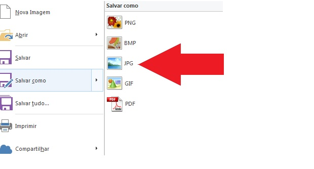 Etapa final do screenshot (Foto: Reprodução) (Foto: Etapa final do screenshot (Foto: Reprodução))