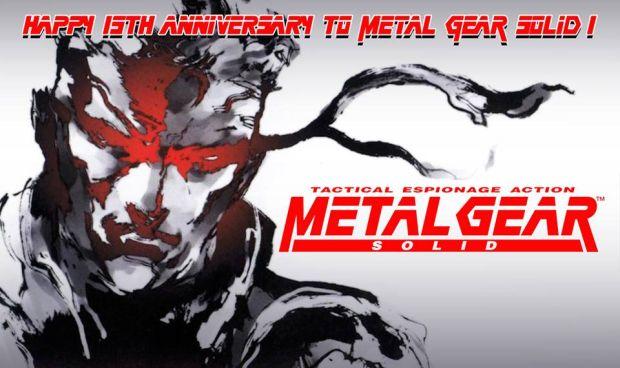 Facebook oficial de Metal Gear Solid, da Konami, homenageou os 15 anos do game (Foto: Divulgação)