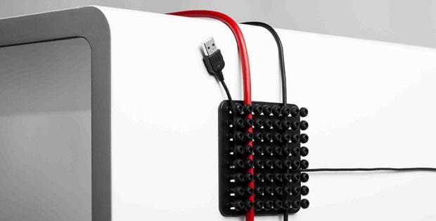 Cablox organiza diversos fios e também serve como encurtador (Foto: Reproduçao/Asys)