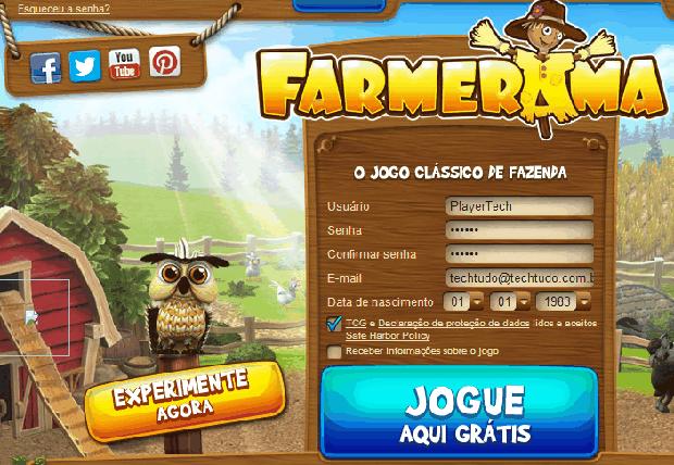 Farmerama (Foto: Reprodução / TechTudo)