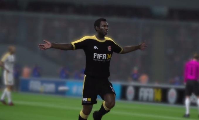 Pelé em Fifa 14 para Xbox One (Foto: Reprodução / TechTudo)