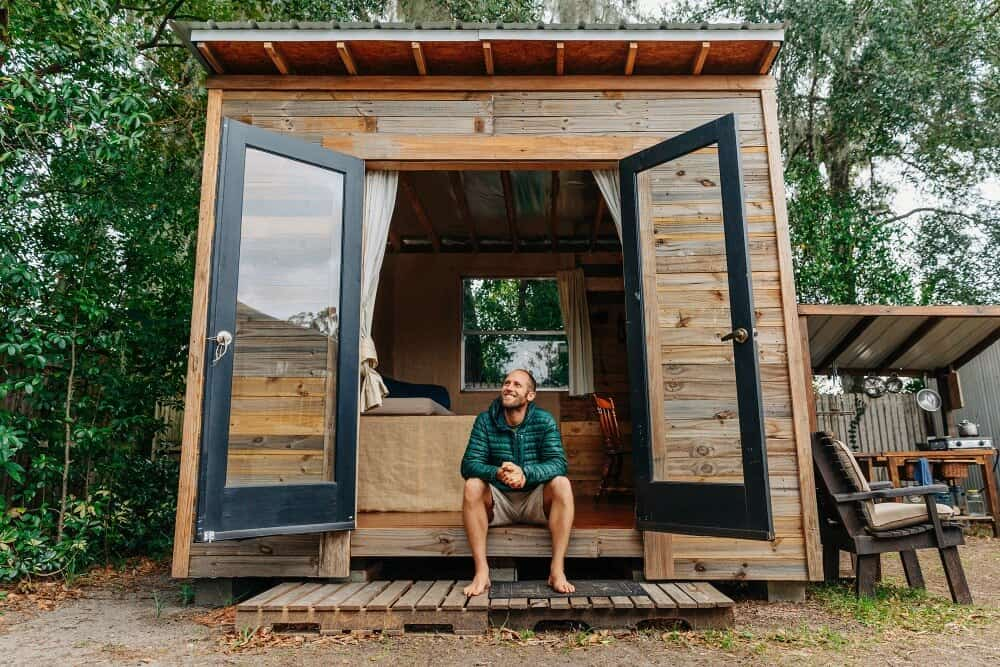 Florida Environmentalist Builds His Own Tiny House For 1 500