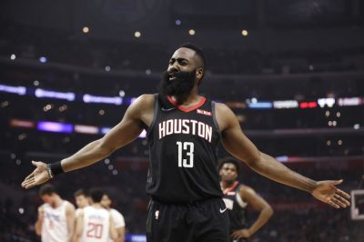 9b312685e6a Clippers commentator says Rockets  James Harden  cheating  the game