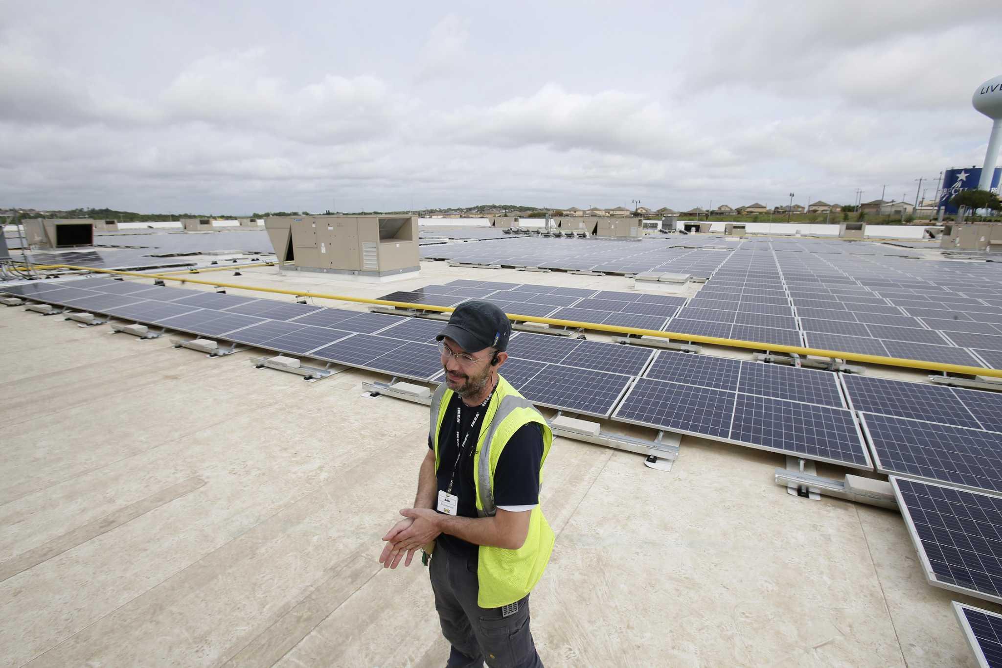 https www expressnews com news environment article san antonio area ikea turns on a massive solar 13785829 php