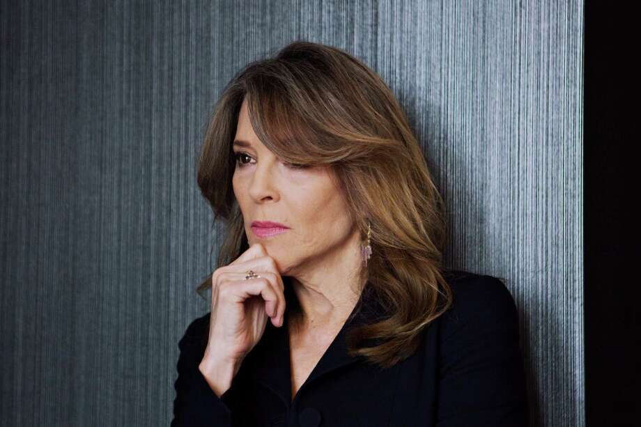 Marianne Williamson in February in her New York apartment. Photo: Photo For The Washington Post By Mary Inhea Kang / Mary Inhea Kang