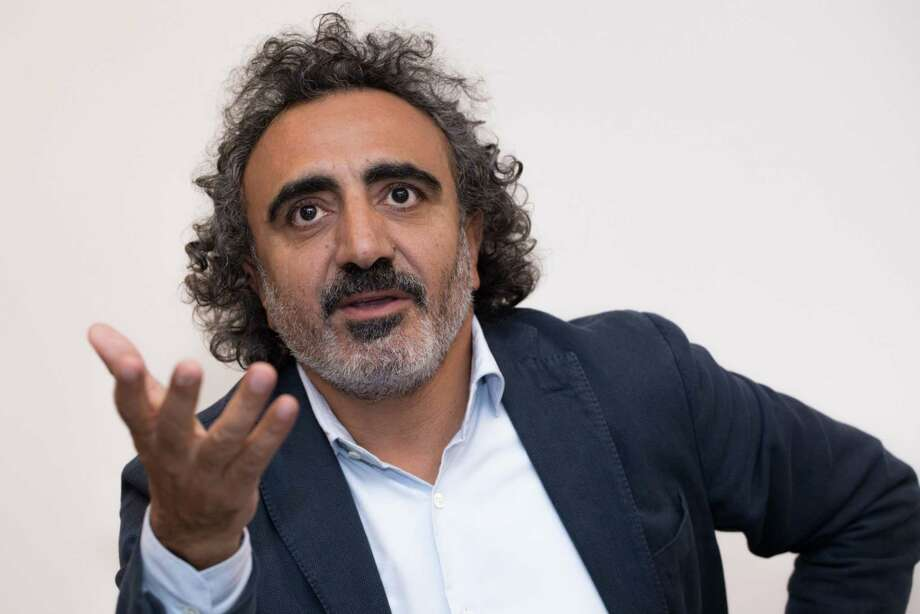 Hamdi Ulukaya, CEO of Chobani, during an interview in Bogota, Colombia, on Aug. 27, 2019. Photo: Bloomberg Photo By Ivan Valencia. / © 2019 Bloomberg Finance LP