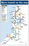Sound Transit map shows expected opening dates of new light rail, transit stations in a quick glance