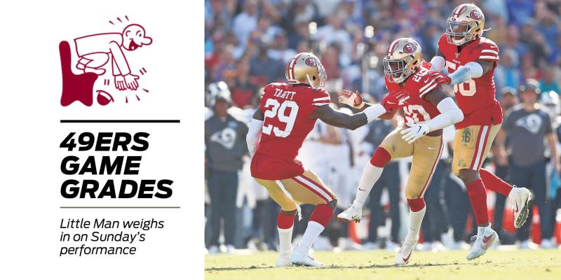 49ers game grades vs. Rams: Hard to find much fault with this one