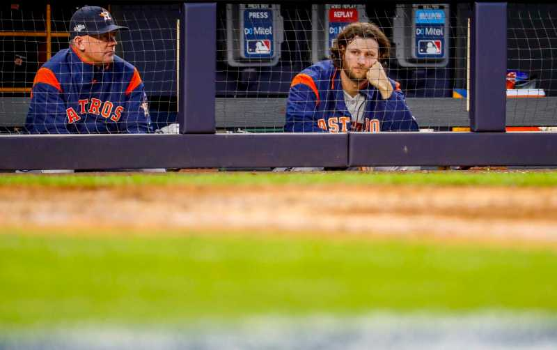 Heavy rains could force postponement of Astros-Yankees Game 4