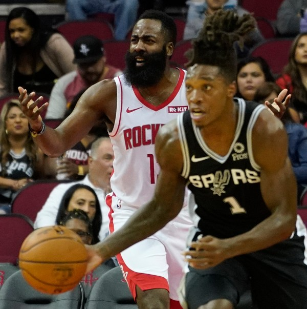 Rockets fail to find rhythm in loss to Spurs