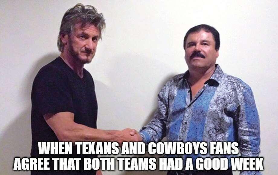 Memes Celebrate Big Wins For Texans Cowboys Houston Chronicle