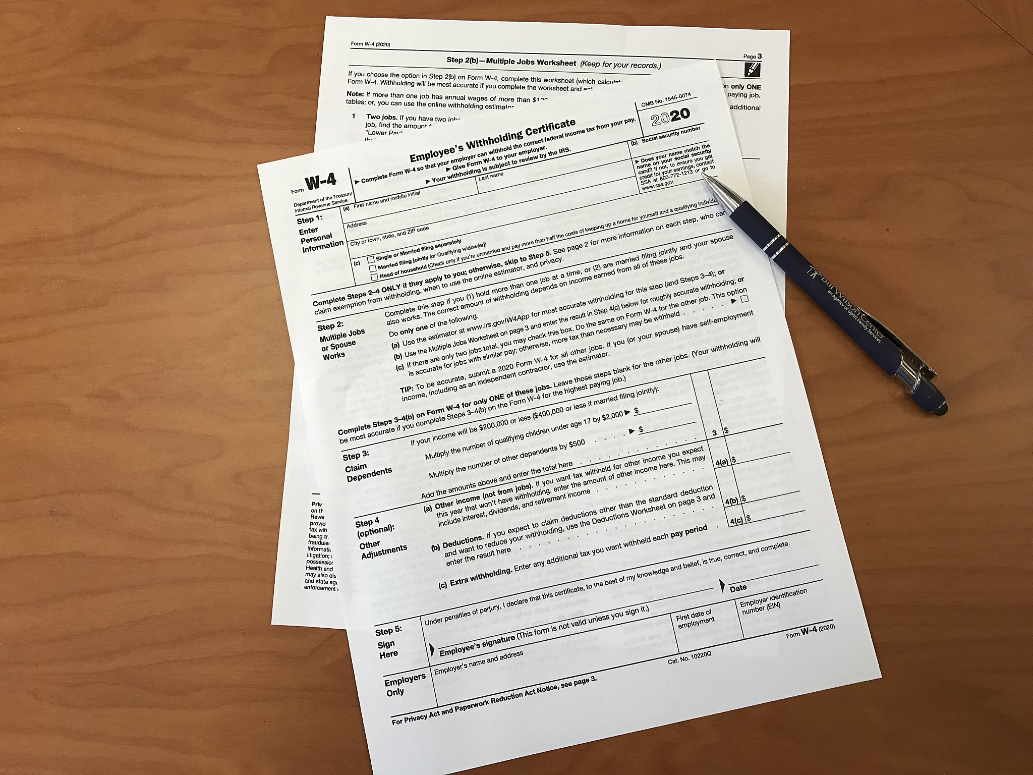 New Irs W 4 Form Could Be Confusing What You Need To Know