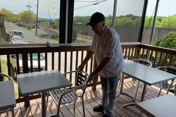Valley Restaurateurs Taking The Last Steps Before Opening To | Outside Steps For Seniors | Dreamstime | Stair Treads | Handrail | Stainless Steel | Walkway