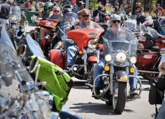 Harleys Everywhere, Masks Nowhere – 'We Cannot Stop People': 250,000 Are Expected at a South Dakota Motorcycle Rally Amid Coronavirus Pandemic