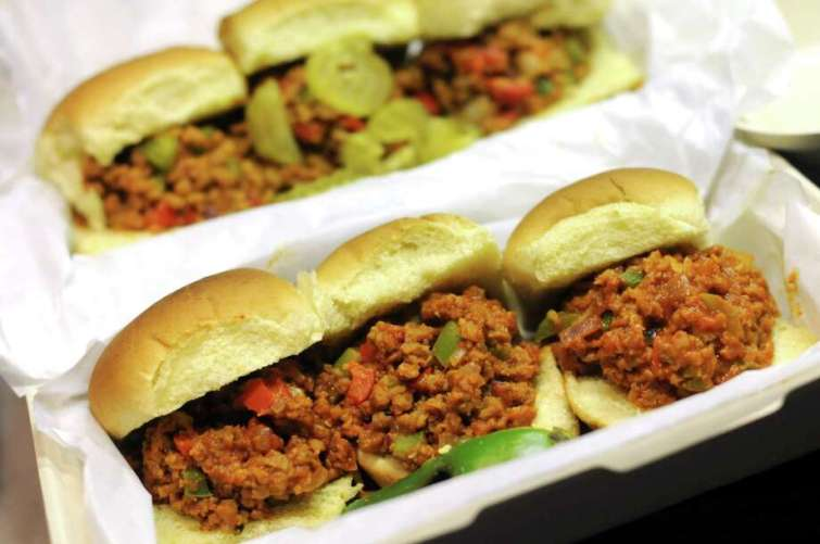 Tidy Ben's Sloppy Joes is a new takeout business serving vegan sloppy Joes in several flavors including the Sloppy Fiesta. Photo: Paul Stephen /Staff