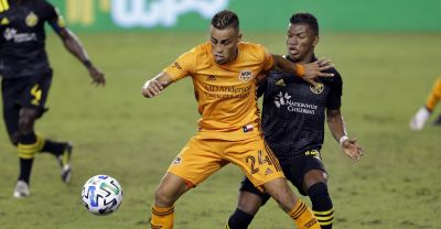 Dynamo's trouble finishing continues in draw with Columbus Crew SC