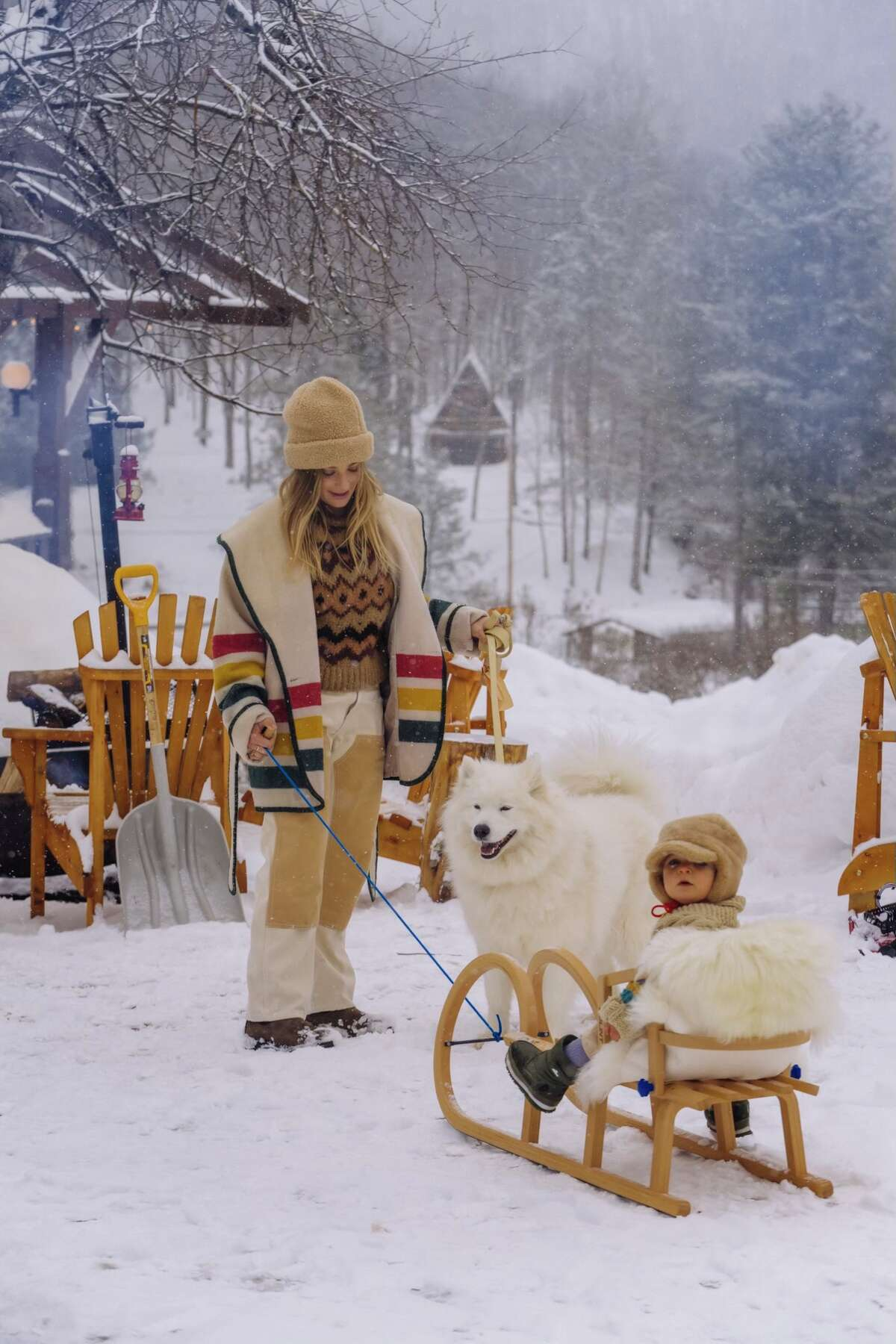 Winter playtime in the Catskills for the whole family at Urban Cowboy.