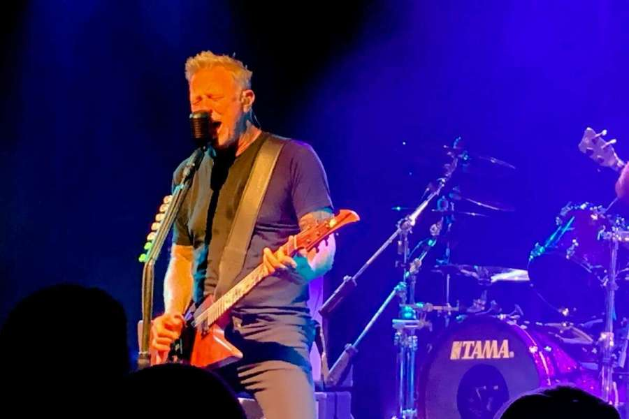 Metallica frontman James Hetfield will appear on a sold-out show at the Independent on September 16, 2021.