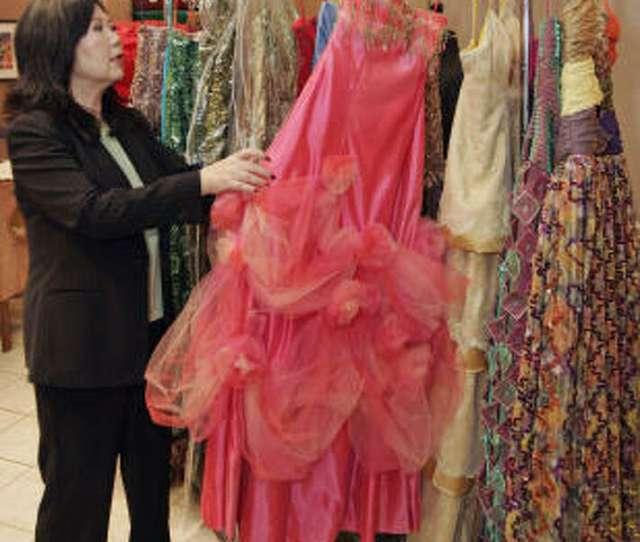 Designer Miwa Sakashita Shows Evening Gowns She Designed For Debutantes In Galvestons Mardi Gras Ball