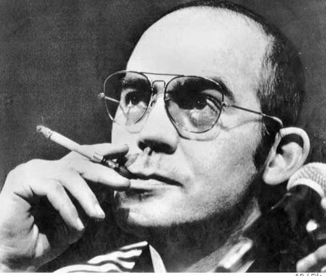 File Photo Of Hunter S Thompson From  Associated Press Laserphoto Photo Associated