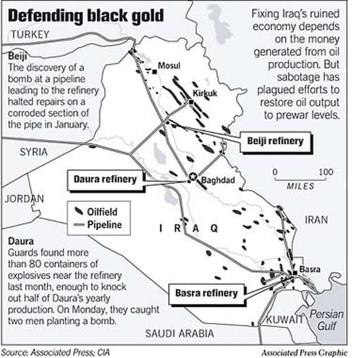 Rebuilding Iraq Workers Get Oil To Near Prewar