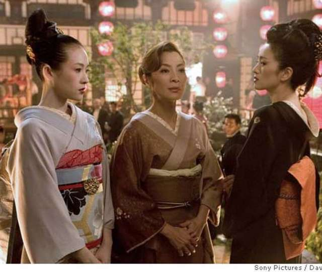 In This Photo Released By Sony Pictures Actresses From Left Ziyi Zhang