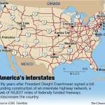 The Interstate Highway System At 50 America In Fast Lane With No Exit Freeways Have Changed Our Way Of Life And Given Birth To New Industries