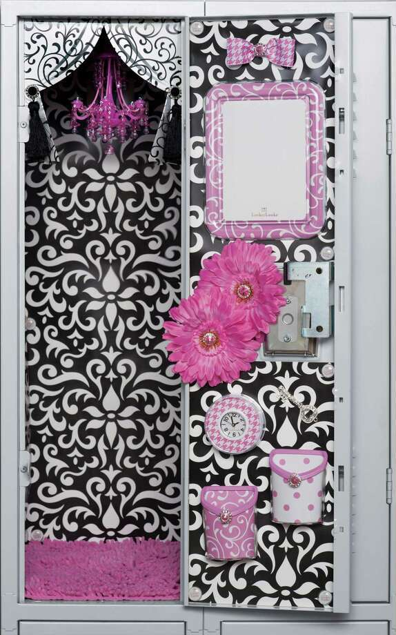 Lockerlookz Offers A Chandelier Rug And Organizational Products For The School Locker Photo