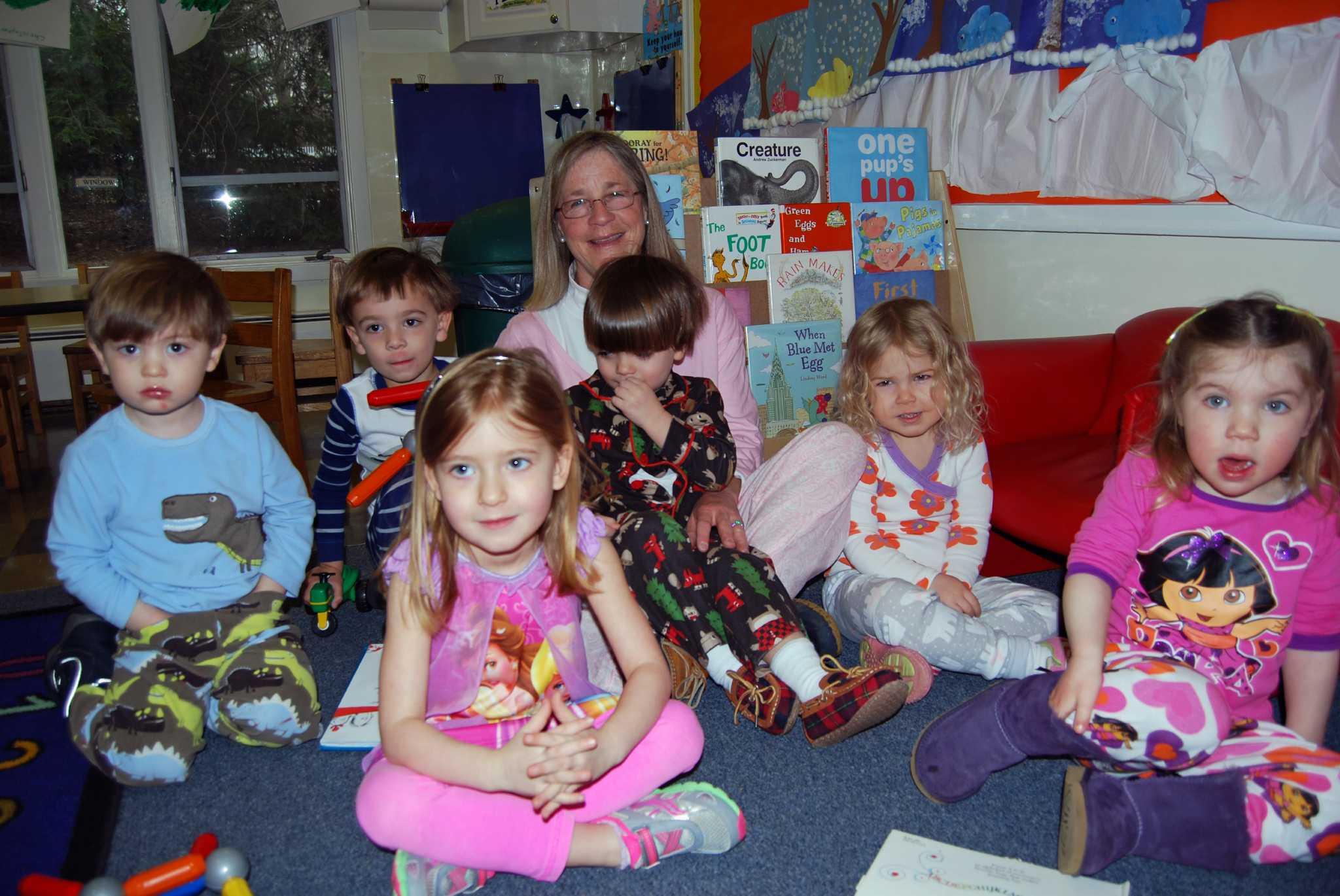 Comfy And Cozy At Preschool Pajama Day