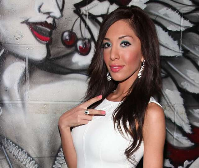 Farrah Abraham Attends Pachas Tailgate Pre Party At Pacha On January   In