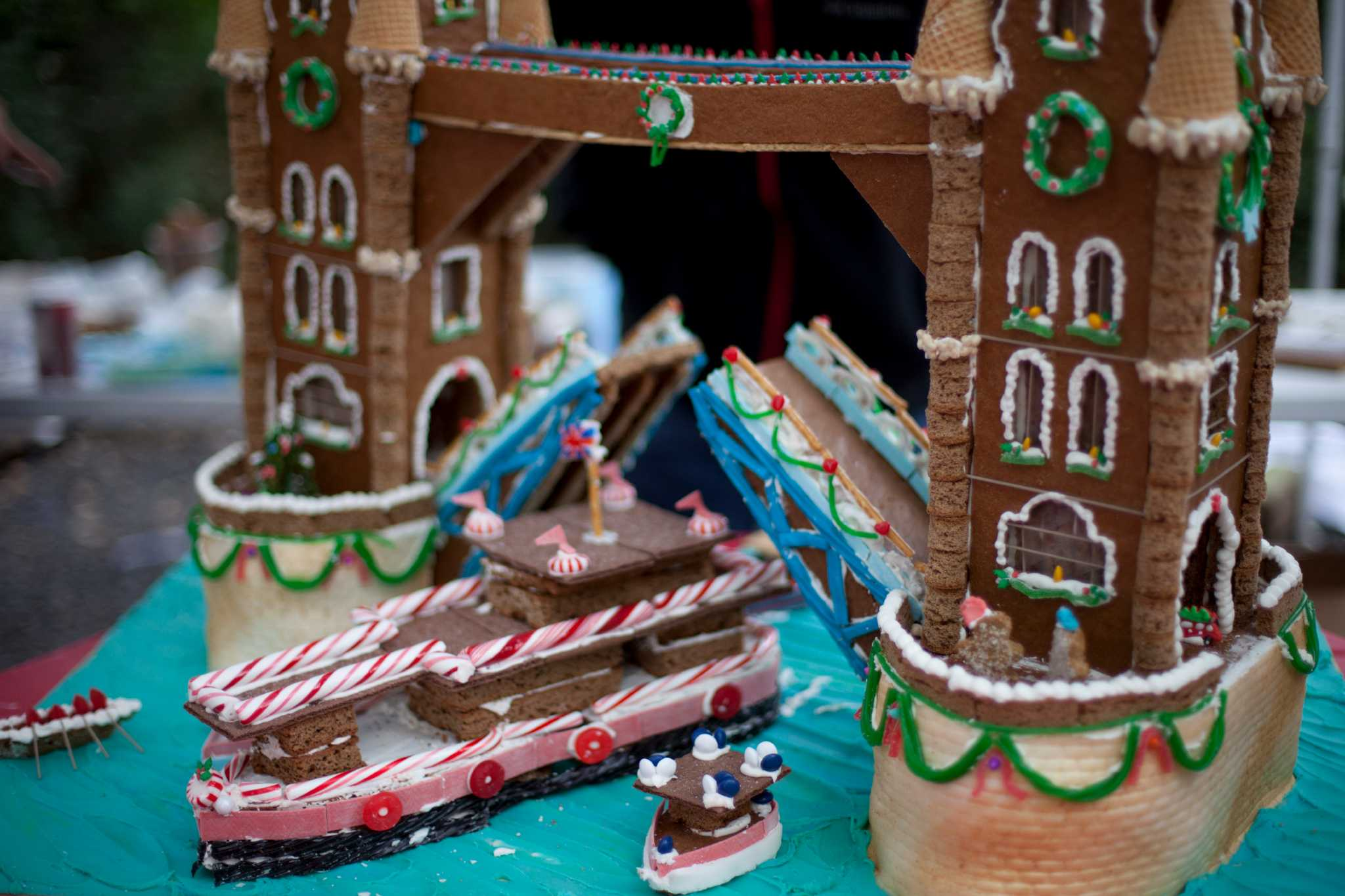 Builders Prepare For Annual Houston Gingerbread Build Off