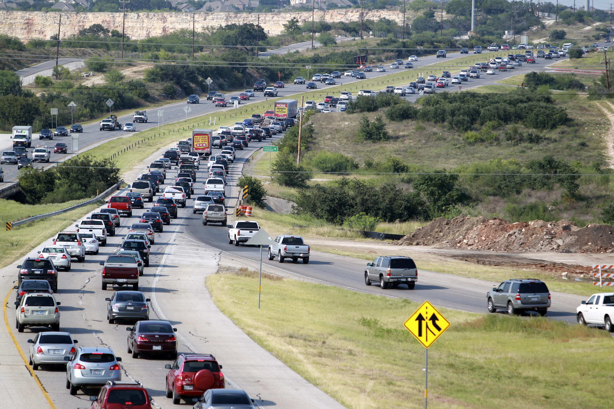 Traffic Congestion Up In San Antonio Across The Country