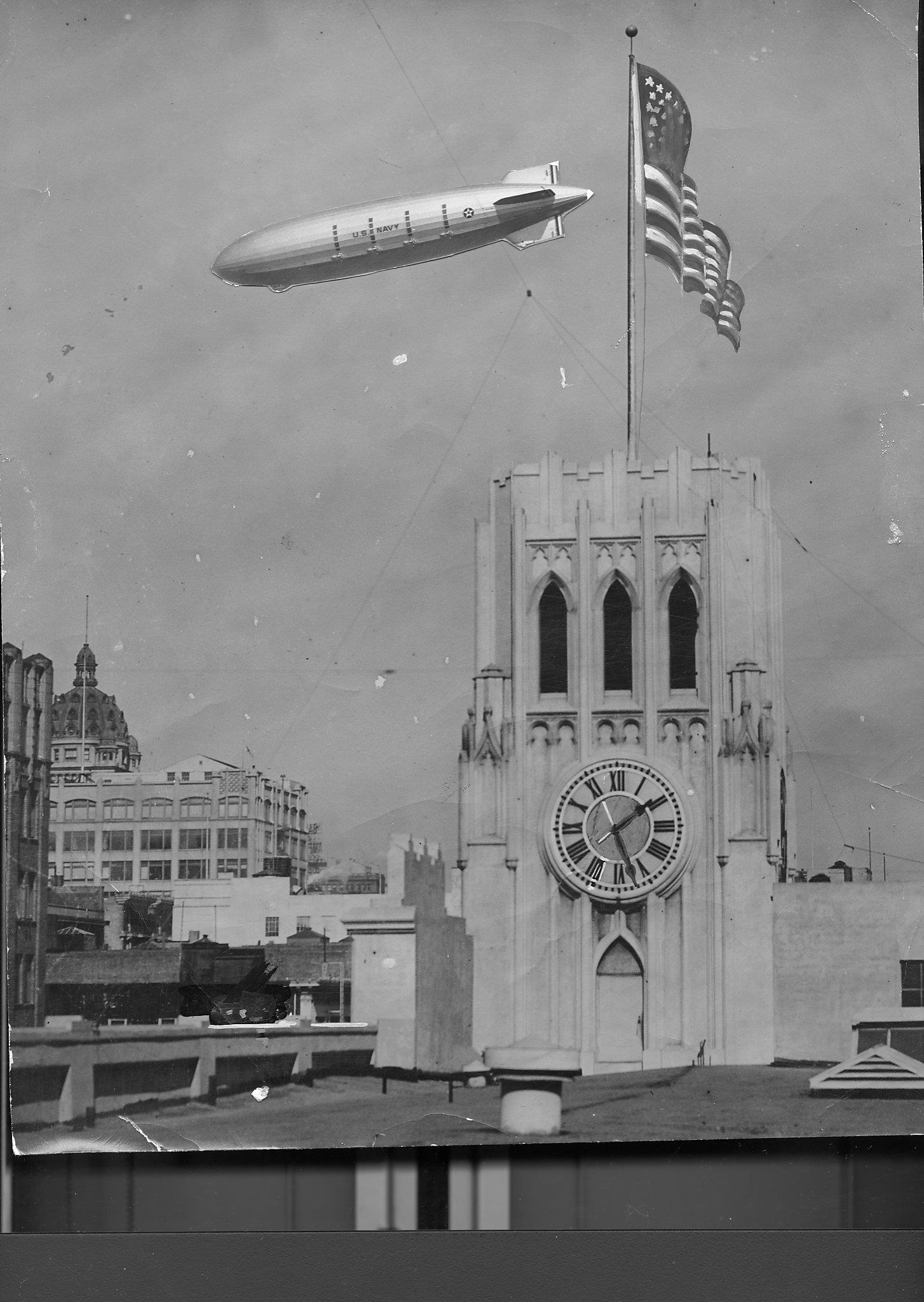 When Behemoth Blimps Ruled The Bay Area S Skies