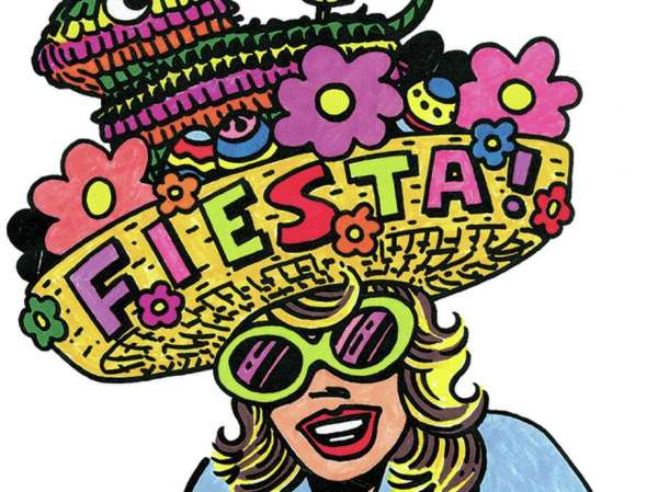 fiesta coloring pages # 70