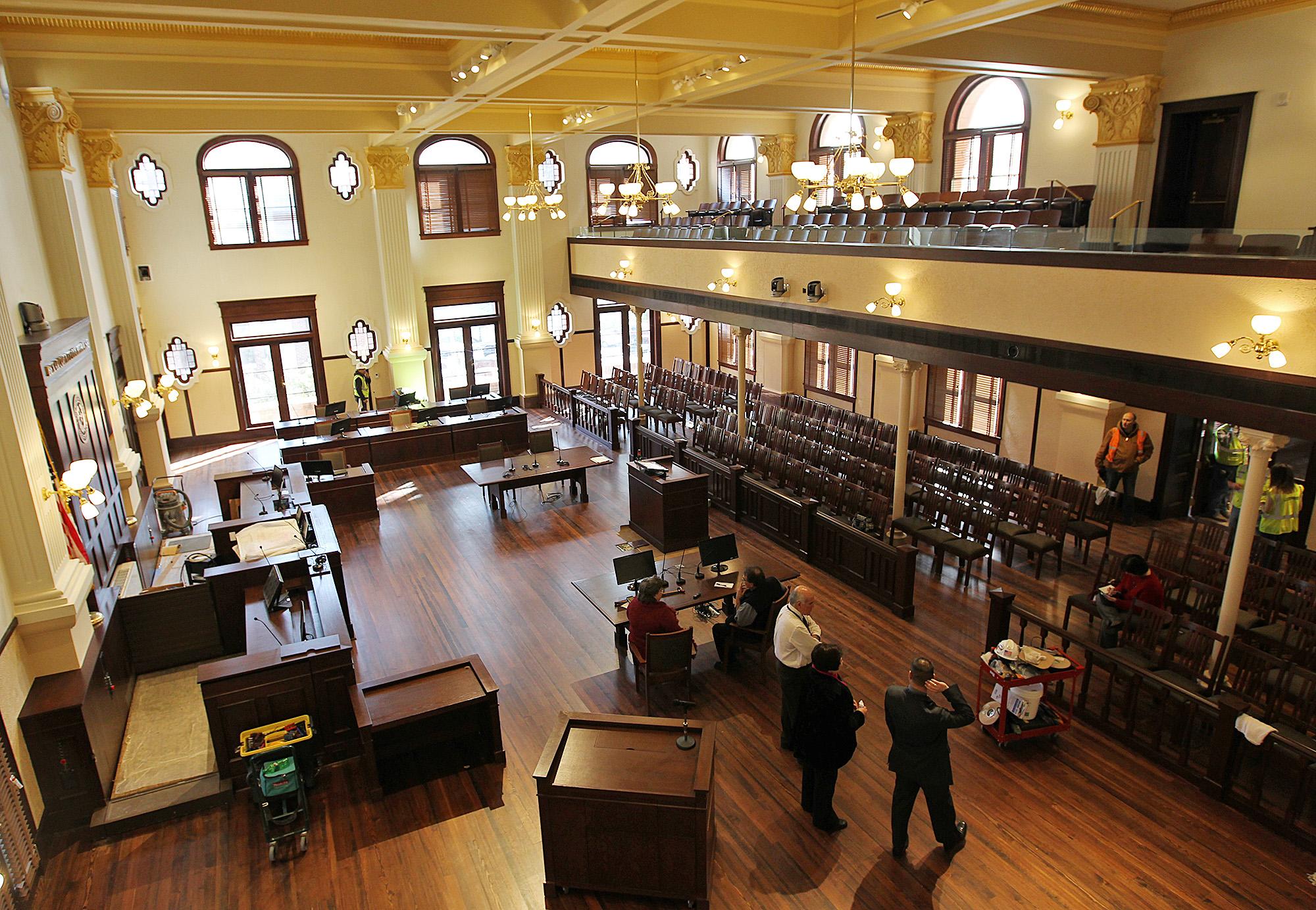Historic Bexar Courtroom Gets New Duty Expressnews Com