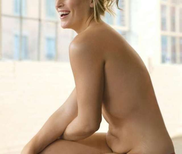 This Photo Released By Glamour Shows Model Lizzie Miller As Featured In The September  Issue