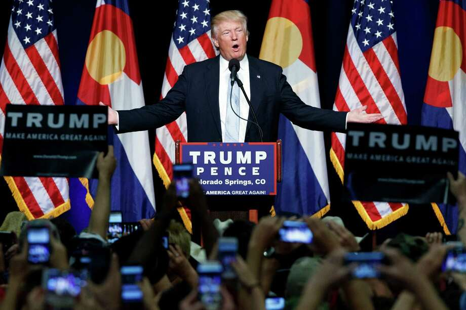 President Donald Trumphas been on the defense so much that it's easy to forget just how many feuds the businessman-turned-GOP-presidential-nominee-turned-leader of the free world has gotten in. See the running list of feuds since the beginning of the Trump campaign.  Photo: Evan Vucci, STF / Copyright 2016 The Associated Press. All rights reserved. This material may not be published, broadcast, rewritten or redistribu