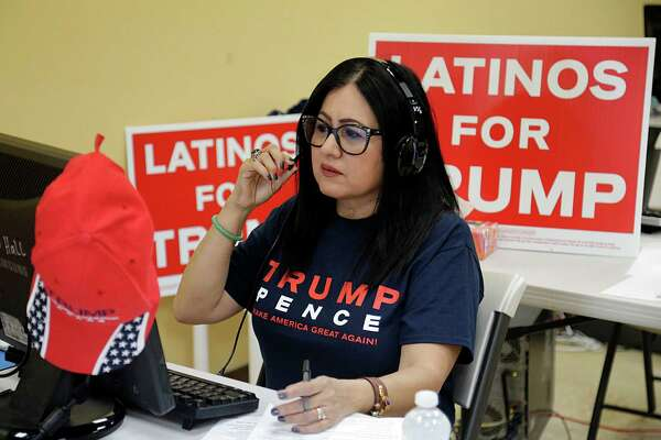 Trump's Latino supporters small in number, big in zeal -  HoustonChronicle.com