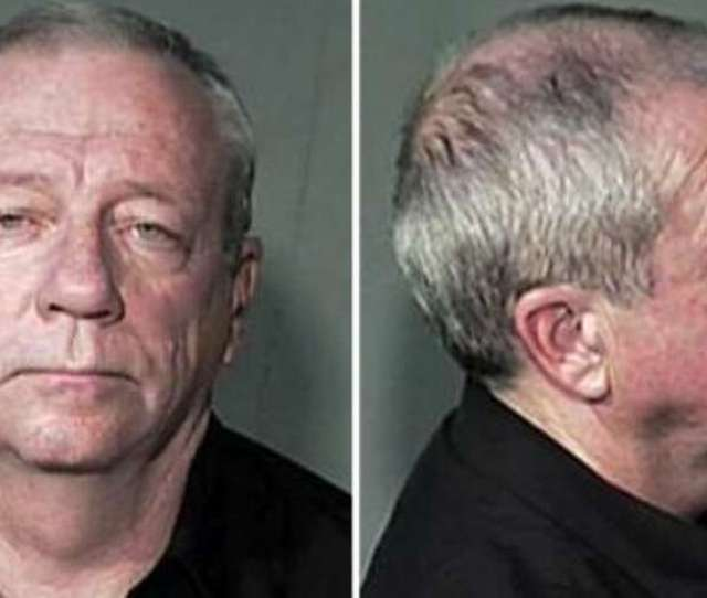 Editor Michael Laceys  Mugshot After Lacey And Publisher Jim Larkin Sued The Maricopa County
