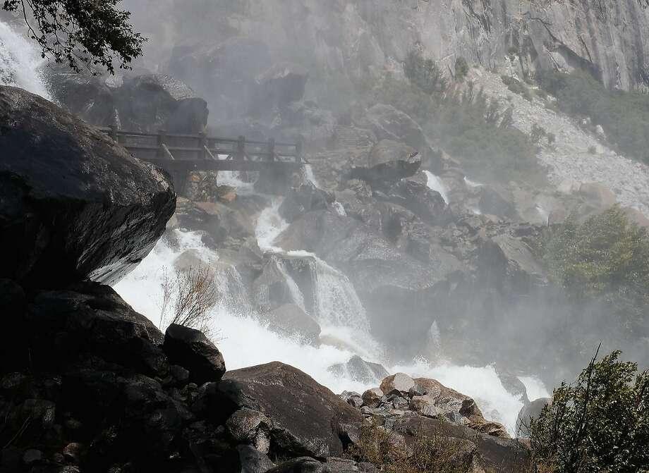 Man Slips On Yosemite S Wapama Bridge Falls To His Death
