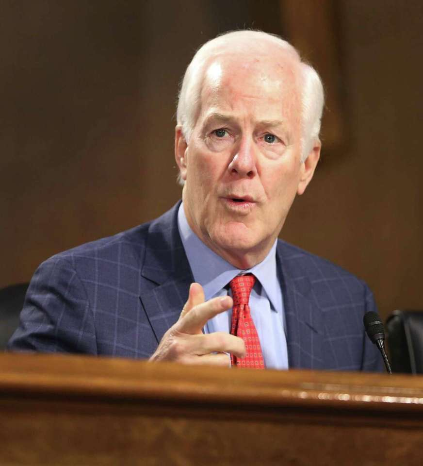 For Cornyn, an open and shut door on GOP health care plan