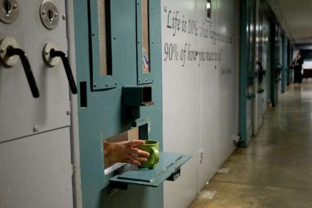 At the end of the 2008 fiscal year, 17.7 of the prisoners in administrative segregation were black; by the end of the last fiscal year, 24.7 percent were black.Over the same time frame, the portion of administrative segregation inmates who are white decreased by 4 percentage points.  Photo: Brett Coomer, Staff / © 2014 Houston Chronicle