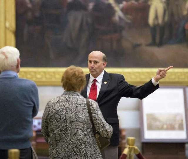 Louie Gohmert R Texas Escorts A Group Of Constituents Through The