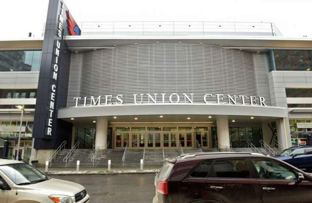 Times Union Center as seen on Jan. 11, 2018 in Albany.