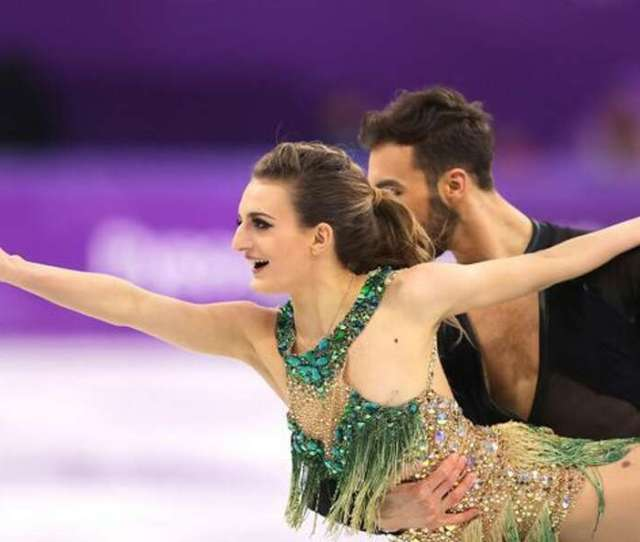 French Skaters Breast Pops Out During Mid Routine Olympic Wardrobe Malfunction Video The Edwardsville Intelligencer