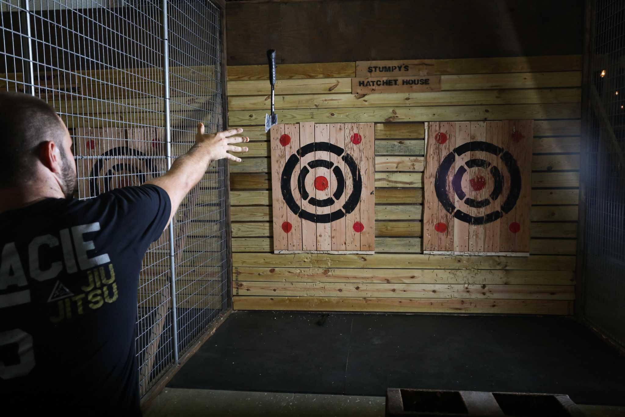 Ax Throwing Business Opens In San Antonio With Another One