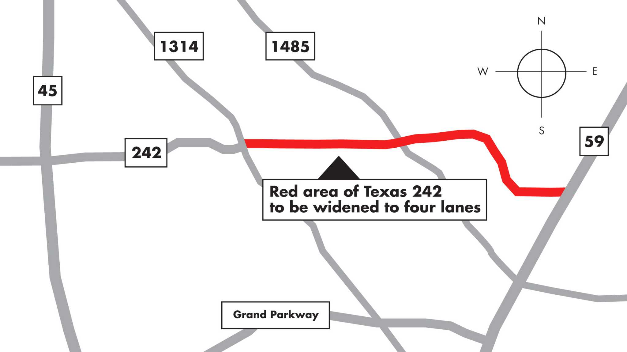 County Moves Ahead With 3m Design Contract For Texas 242