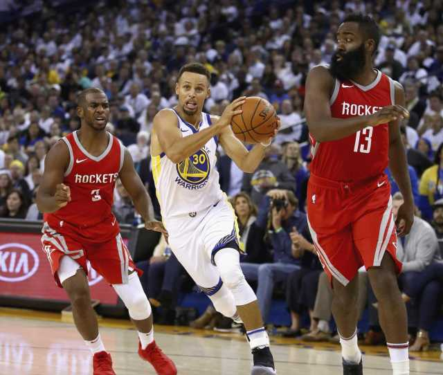 Next Up For Warriors A Rockets Team Purposely Built To Beat Them Sfgate