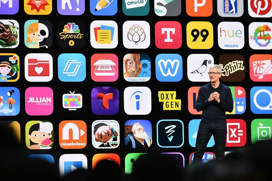 Apple shows animated Lego sets to promote augmented reality updates     Apple CEO Tim Cook  who has been bullish on augmented reality  speaks at  Apple s Worldwide Developer Conference  WWDC  at the San Jose Convention  Center on