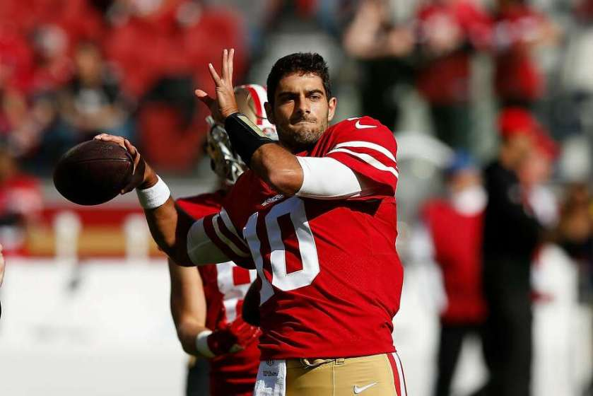 49ers' Garoppolo on much-discussed date: 'It is a good learning experience'  - SFGate